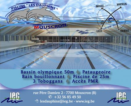 Walloniebienvenue be for Piscine dauphin mouscron